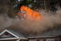 Stubborn House Fire