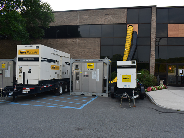 Large Commercial Fire Loss Generator System